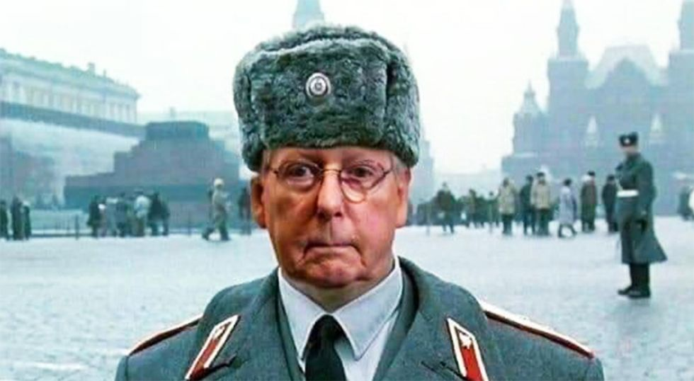 'Visibly livid' Mitch McConnell lashes out on the Senate floor over accusations he's a 'Russian asset'