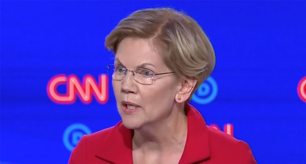 'This isn't funny': Warren tells Dems to 'stop using Republican talking points' on Medicare for All
