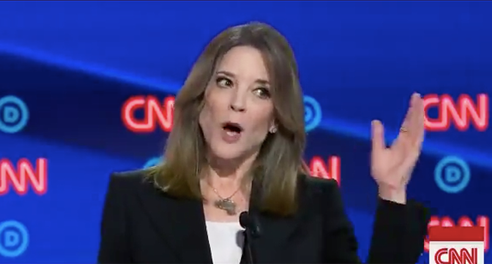 Here are 5 things Marianne Williamson said -- that sounded surprisingly sane