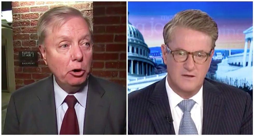 MSNBC's Morning Joe shreds Lindsey Graham's 'shameful' defense of Trump's Iran briefing