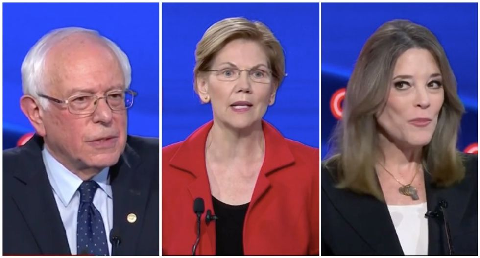 Watch highlights from the Democratic debate in less than 3 minutes