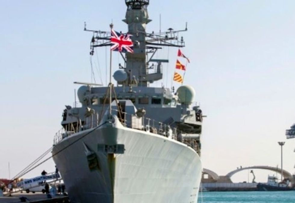 UK warship commander says Iran trying 'to test' Britain in Gulf