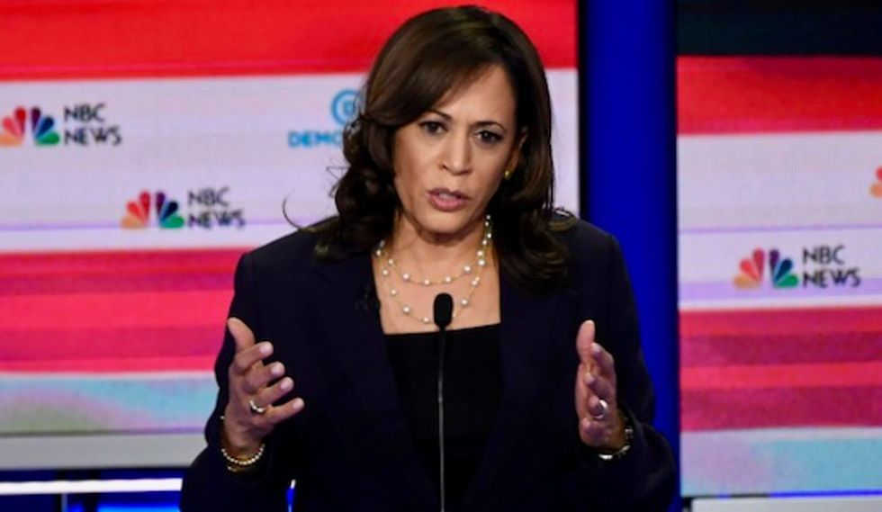 'Bad policy and bad politics': Kamala Harris accused of hijacking Medicare for All label to push more industry-friendly plan