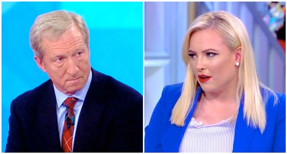 Meghan McCain flattens Democrat Tom Steyer with surprisingly powerful rant against billionaire candidates