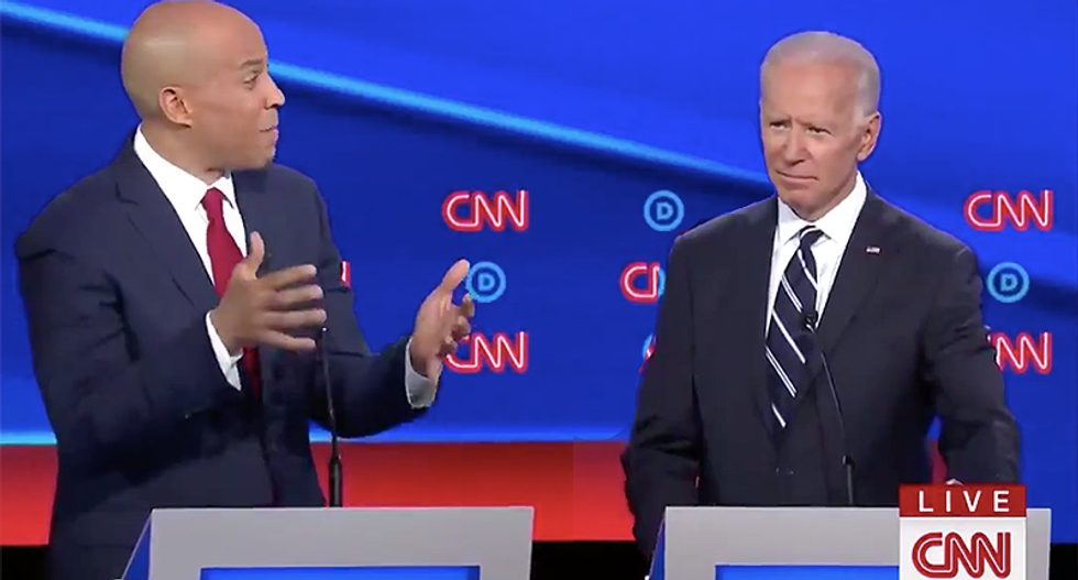 Booker bashes Biden's record on criminal justice reform: 'You're dipping into the Kool-Aid and you don't even know the flavor'