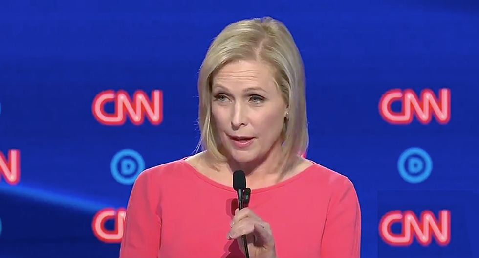 'Forget the Clorox - get the sage': Internet celebrates Kirsten Gillibrand dig at how disgusting Trump is