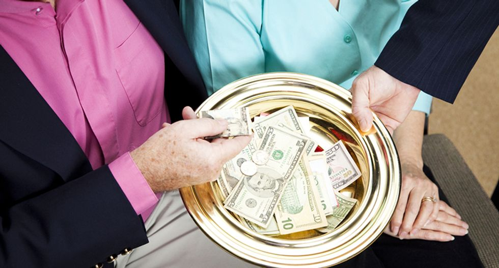 Pastor who stole more than $631,000 from AIDS charities claims he's 'entitled to it'