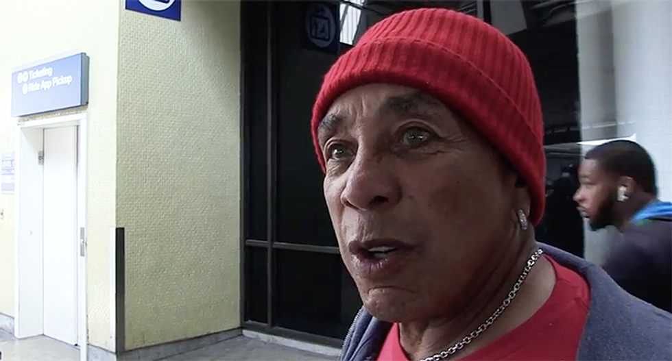 'They're afraid of something': Motown singer Smokey Robinson begs Republicans to 'listen to reason'