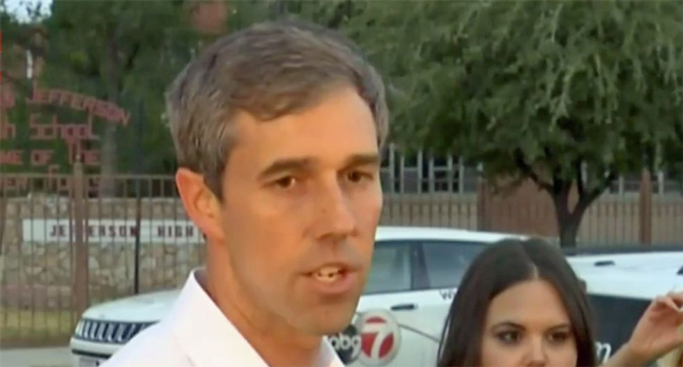 'What the f*ck?' Beto O'Rourke rips media for failing to connect Trump rhetoric to El Paso: 'You know the sh*t he's been saying'