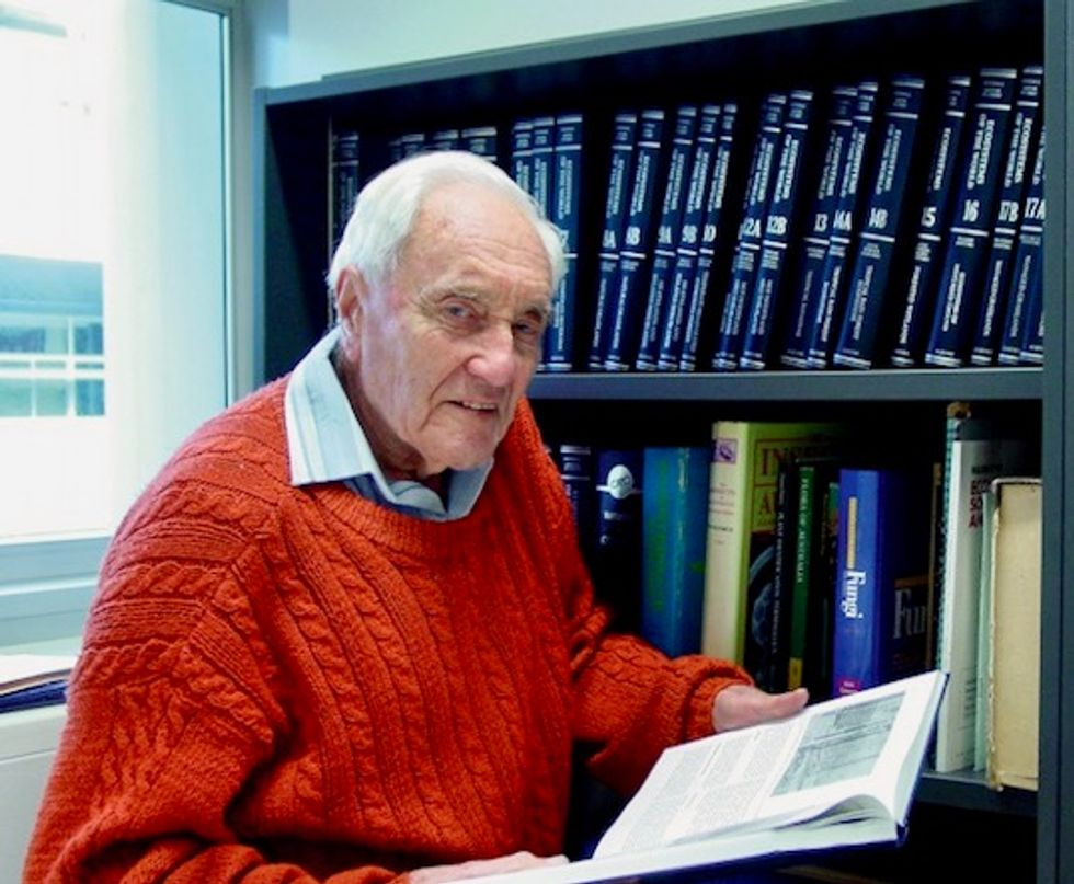 Australia scientist, 104, heads to Switzerland for assisted dying