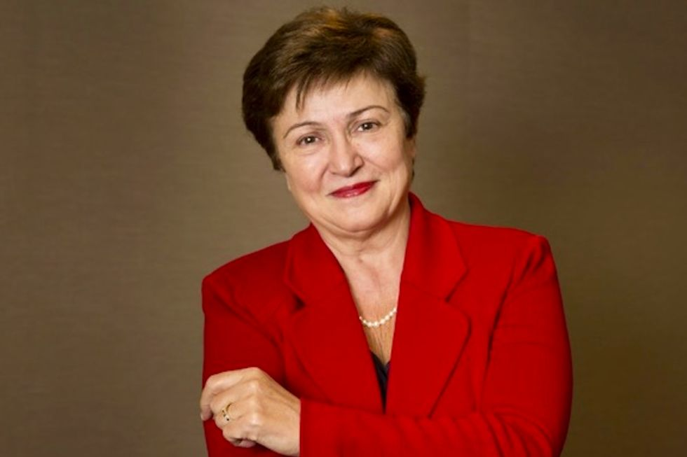 Divided EU taps Bulgaria's Georgieva as IMF candidate