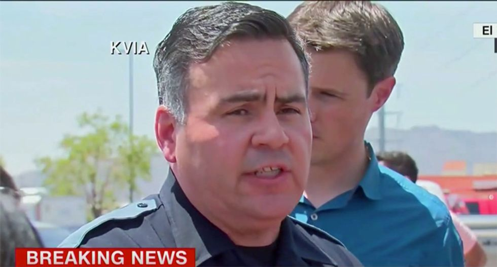 El Paso police say apprehended Texas massacre suspect is 'a white male in his twenties'