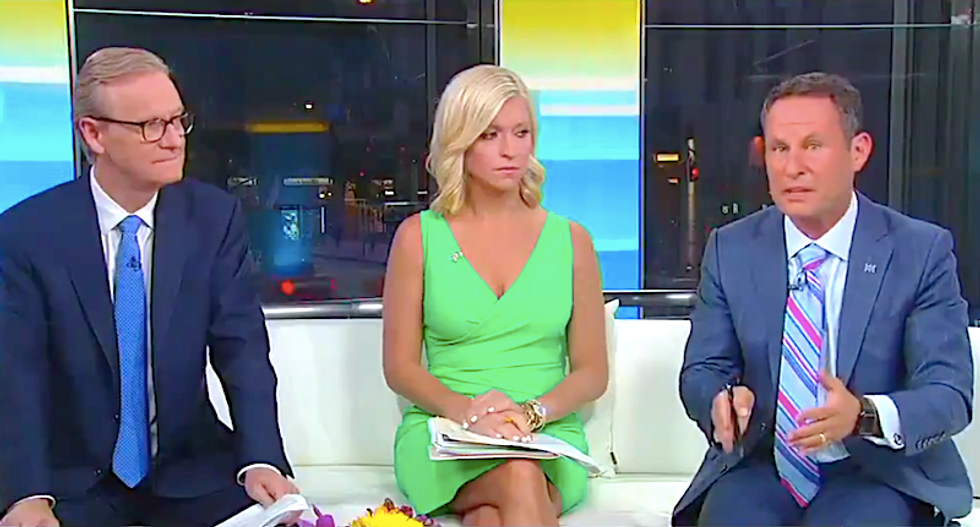 Fox & Friends hosts cry bitter tears over Obama's statement on El Paso and Dayton shootings