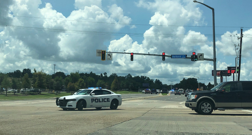 Police respond after gunshots reported at Walmart store in Baton Rouge