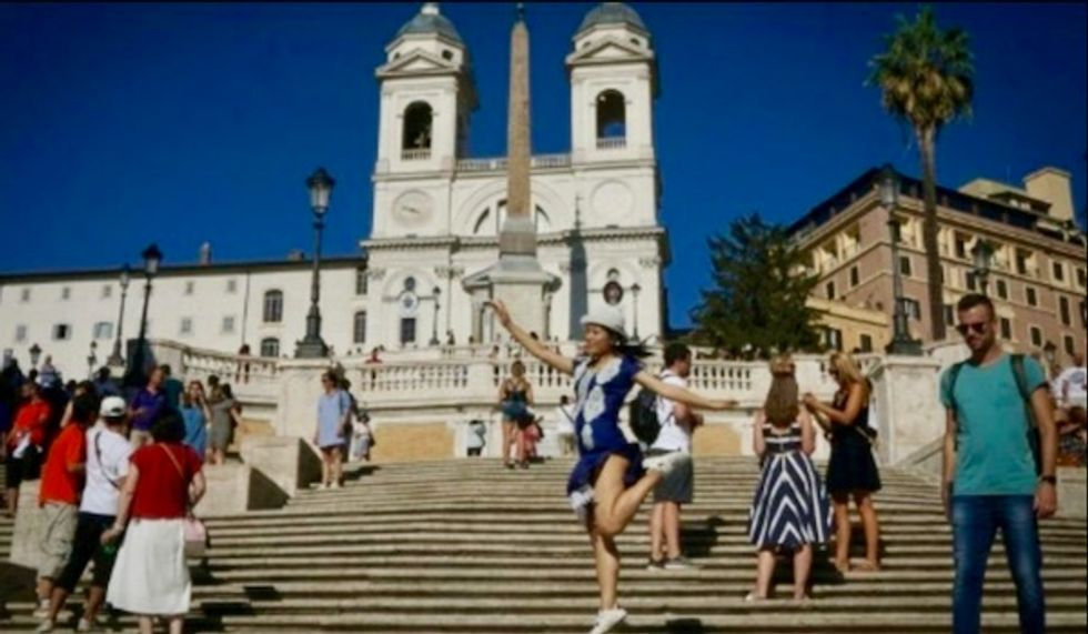 Tourists banned from sitting on Rome's Spanish Steps