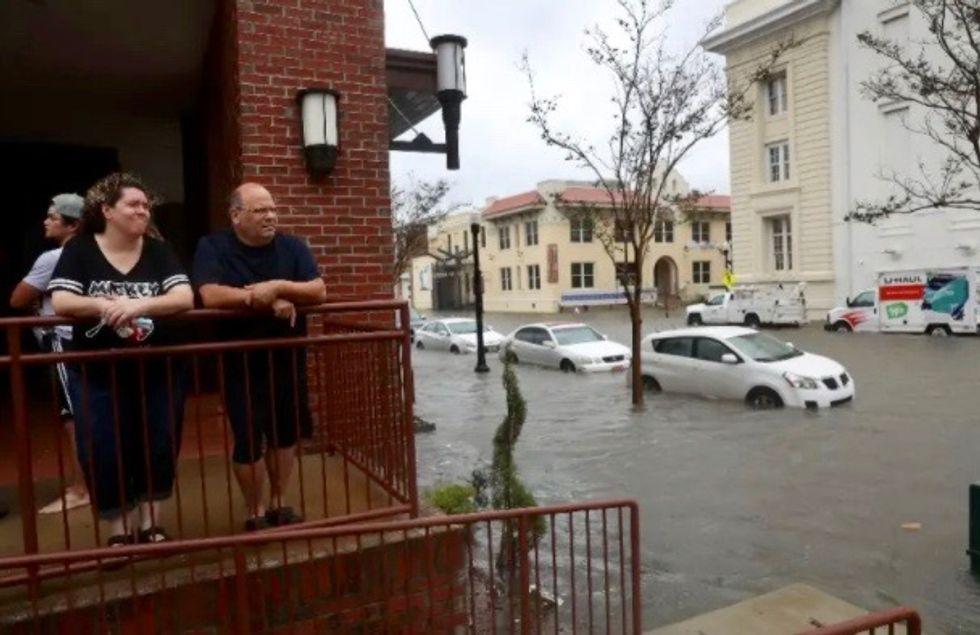 Hurricane Sally drenches US Gulf Coast