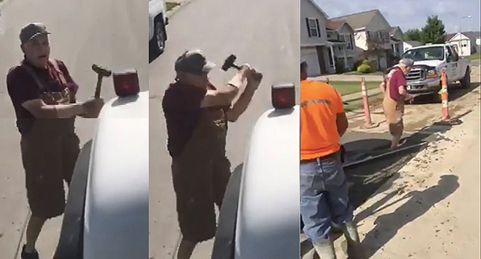 70-year-old Nebraska man takes 'get off my lawn' to a whole new level by slashing tires