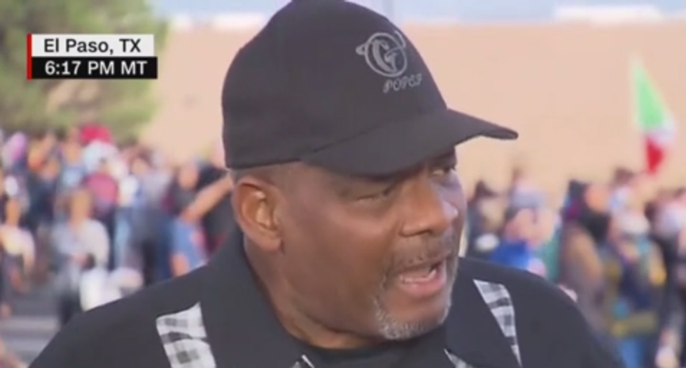 'What's in your heart?' Texas pastor calls on Trump to take 'responsibility' for inflaming hate