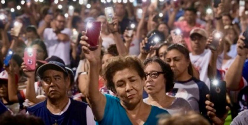Latinos express fear, point finger at Trump after mass shooting