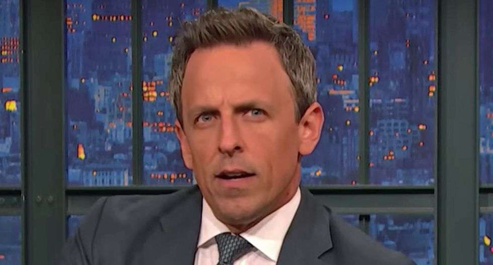 'If there was a time for swearing — this is it': Seth Meyers blasts Republican cowardice after El Paso attack