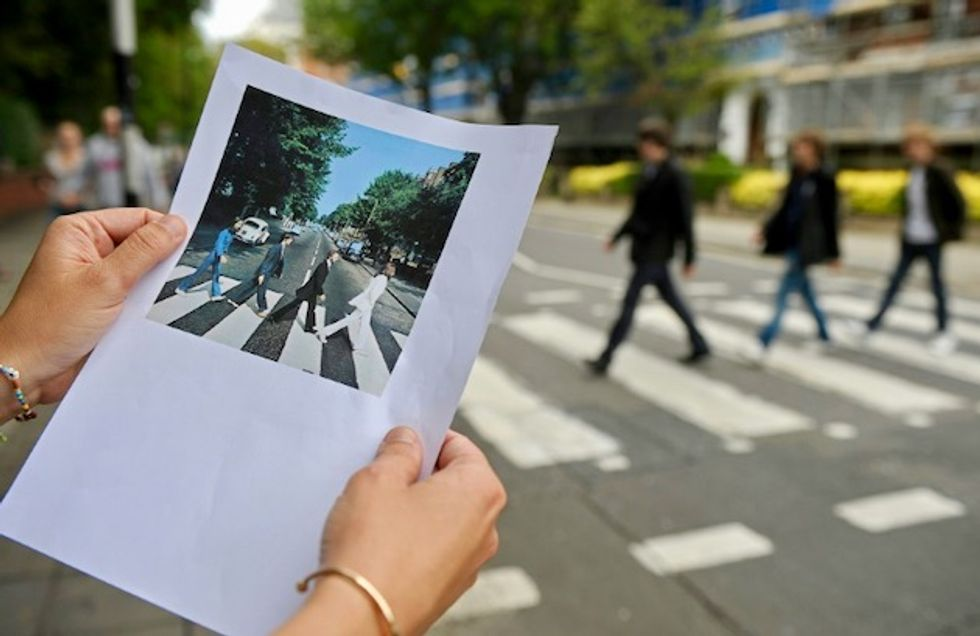 Beatles classic 'Abbey Road' tops charts again after 50 years