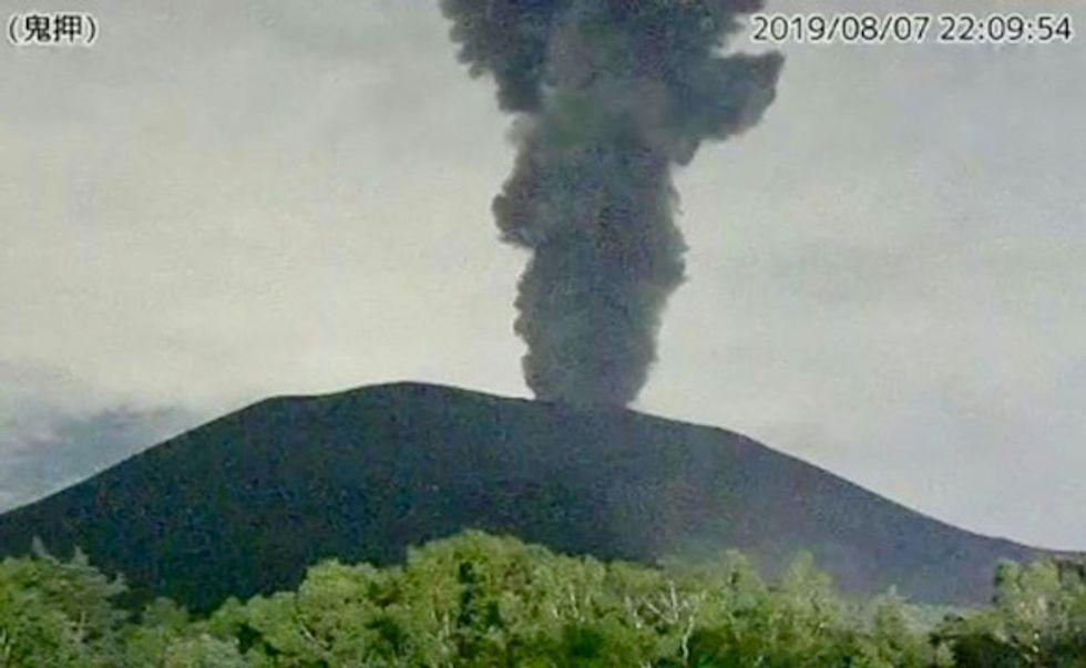 Volcano near Tokyo erupts, prompting warnings