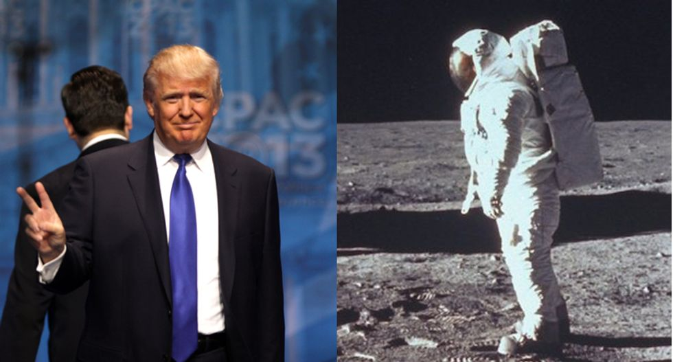 Nate Silver: Trump's current supporters still outnumbered by people who think moon landing was faked