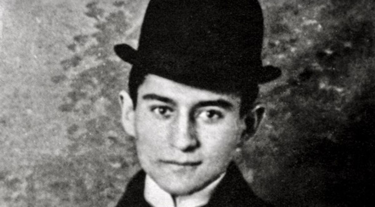 Kafka letters, drawings made publicly available online