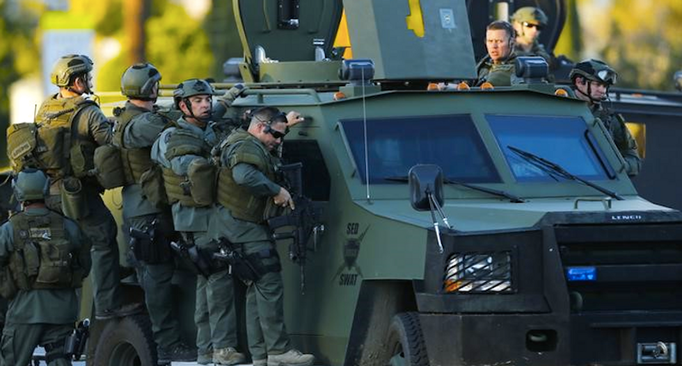 San Bernardino shooters dropped off baby -- and hours later sowed panic and tragedy