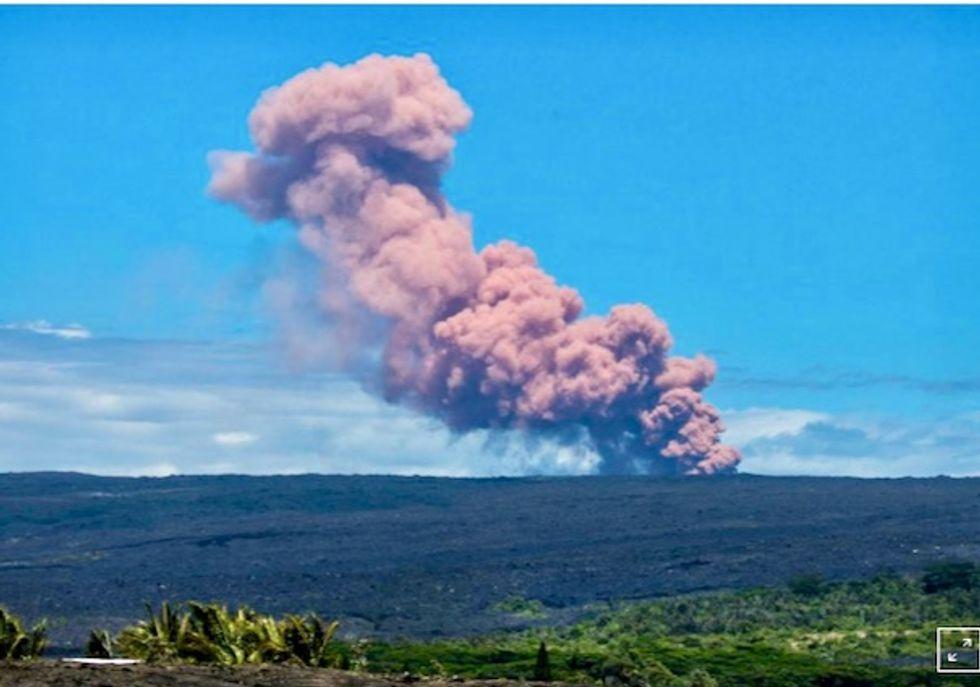 Hawaii's Kilauea Volcano erupts, forcing hundreds to evacuate