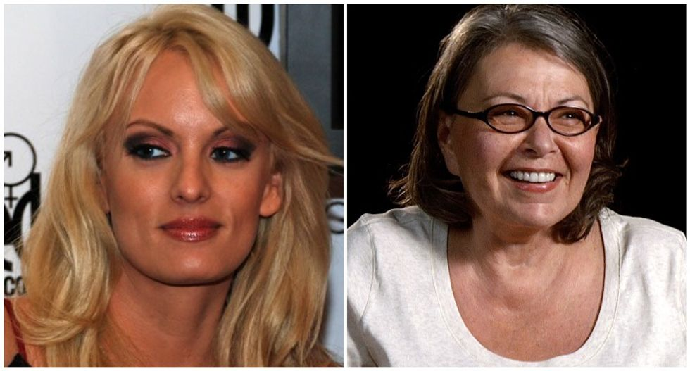 Stormy Daniels owns Trump-loving Roseanne for botching basic facts about her career