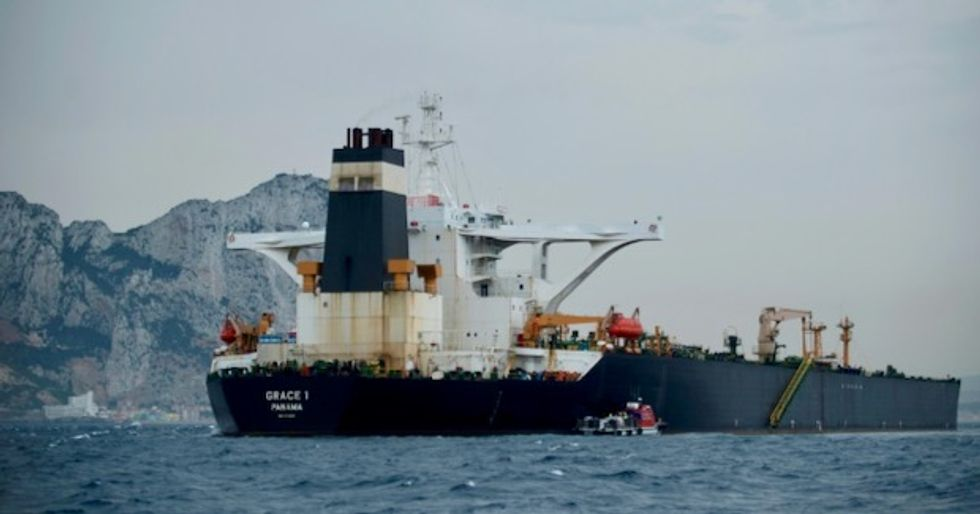 US moves to seize Iranian tanker detained off Gibraltar
