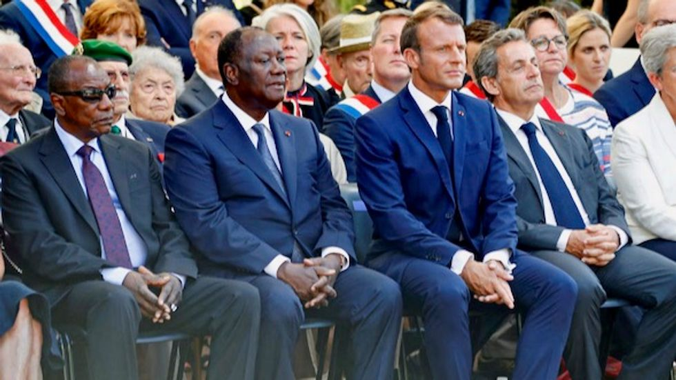 'These men make all of Africa proud': African leaders join Macron at commemoration of WWII landings in Provence