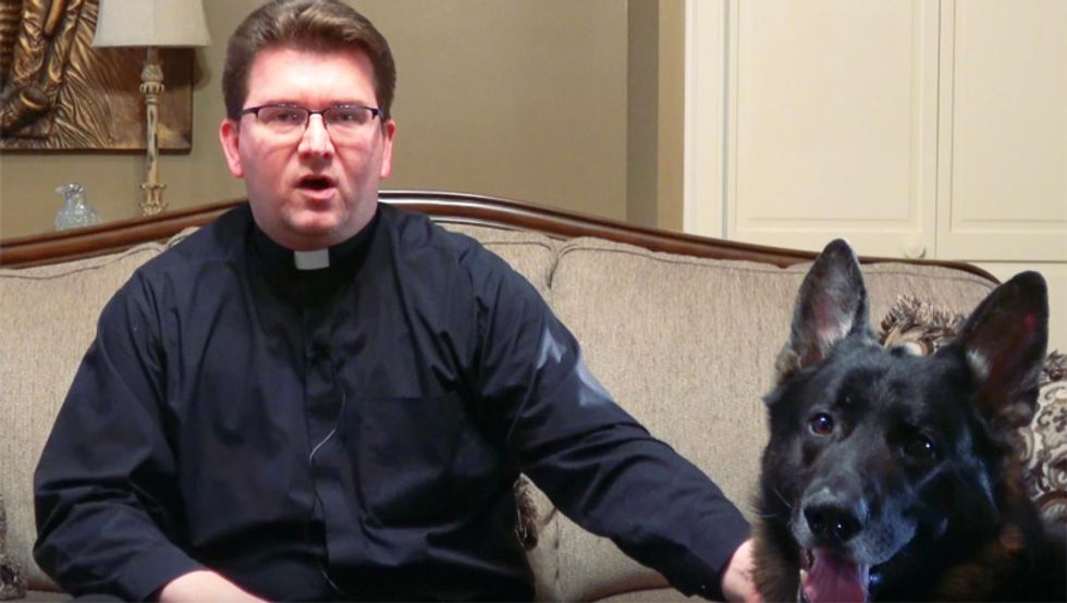 Tennessee priest bans black housekeeper from his property -- then blames his 'racist dog'