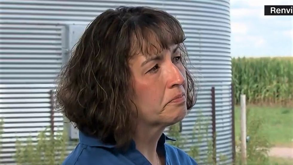 Minnesota farmer tears up while telling CNN how Trump's 'very scary' trade war has harmed her family
