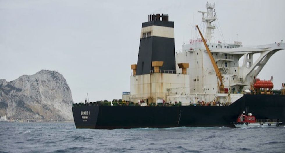 Gibraltar allows Iranian tanker Grace 1 to leave despite US detention request