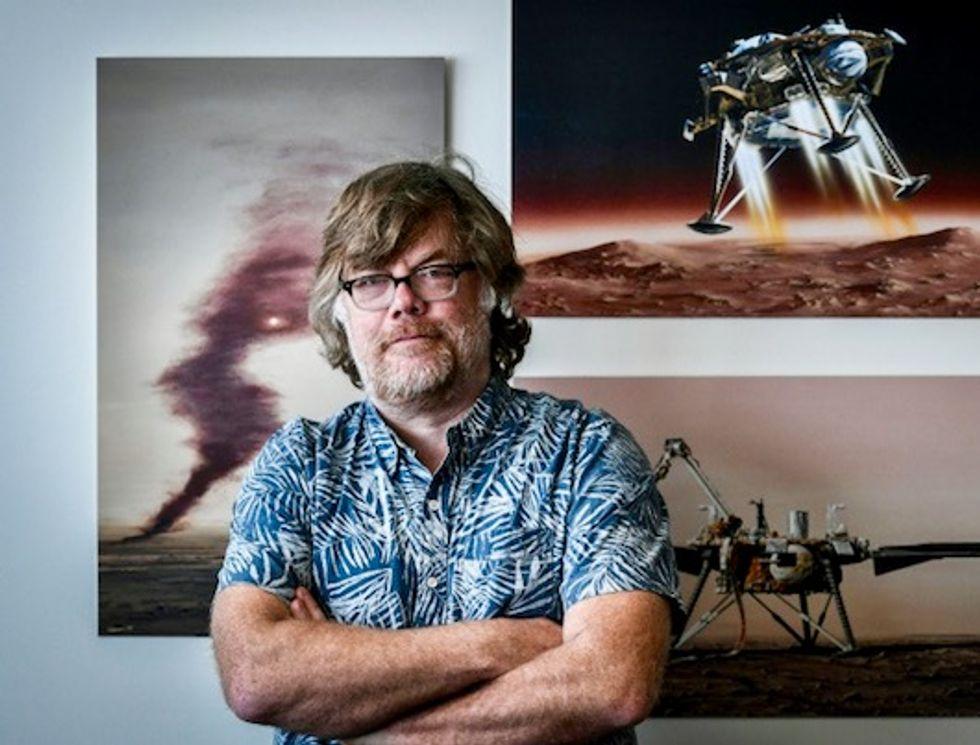 One scientist's 30-year quest to get under Mars' skin