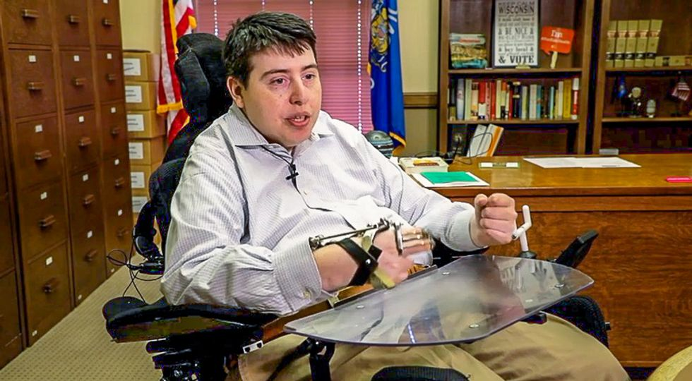 All Wisconsin Republican lawmakers refuse to sign petition to allow paralyzed Dem to call into meetings