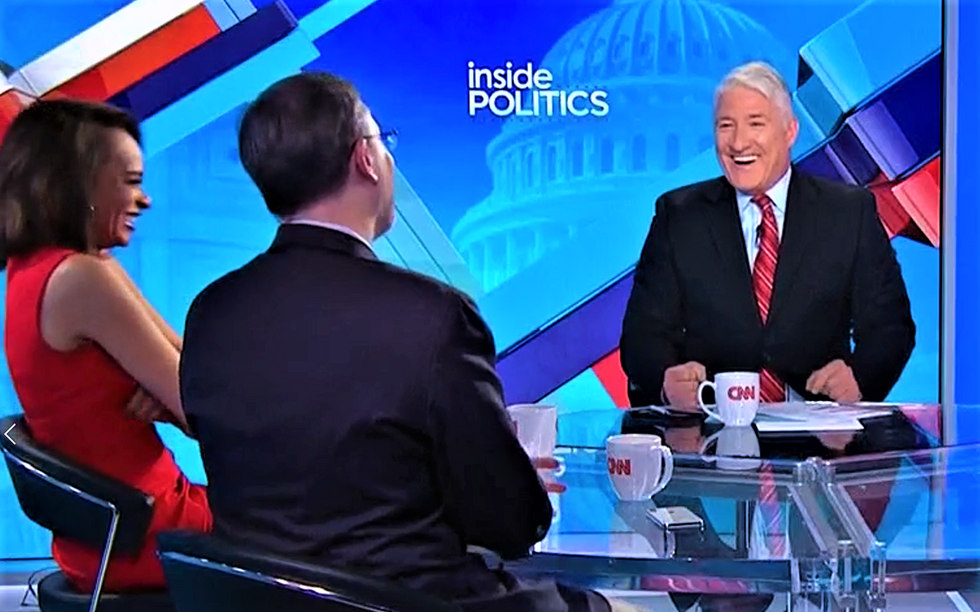 WATCH: Entire CNN panel cracks up at latest story of Trump EPA chief's 'beyond laughable' corruption