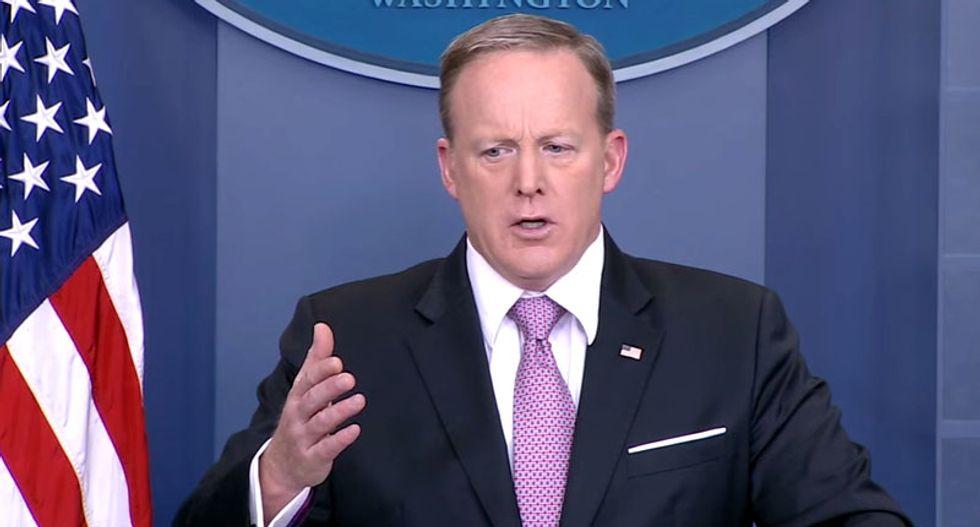 WATCH LIVE: White House press briefing with Trump spokesman Sean Spicer