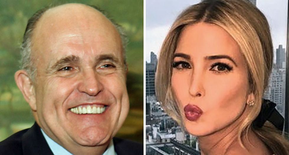 Conservative slams Trump lawyer Giuliani for saying 'Princess Ivanka' is above the law