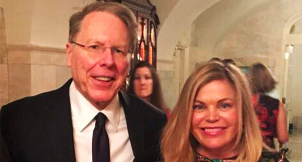 NRA busted for spending tens of thousands on hair stylists and make-up for Wayne LaPierre's wife