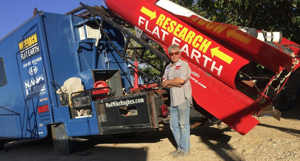 Flat-Earther 'Mad' Mike Hughes prepares to launch himself to space – here's how far he's likely to get