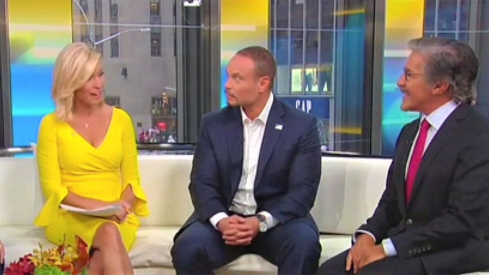 'Fox & Friends' host recoils after Geraldo suggests sponsoring a refugee: 'In a room next to my daughter?!'