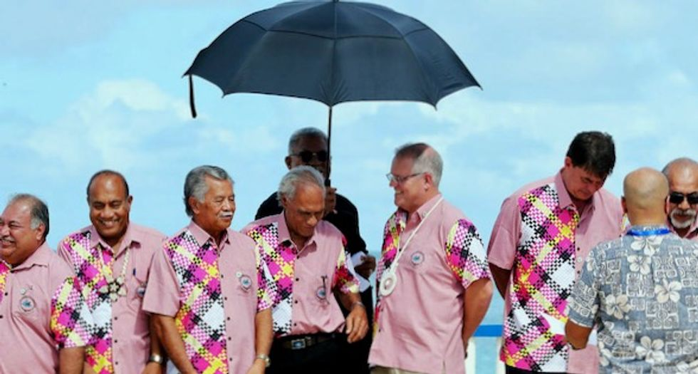 Pacific summit ends in tears as Australia dilutes climate warning, dismaying at-risk islanders