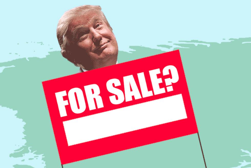 Dem presidential candidate trolls Trump with 'IsGreenlandForSale.com'