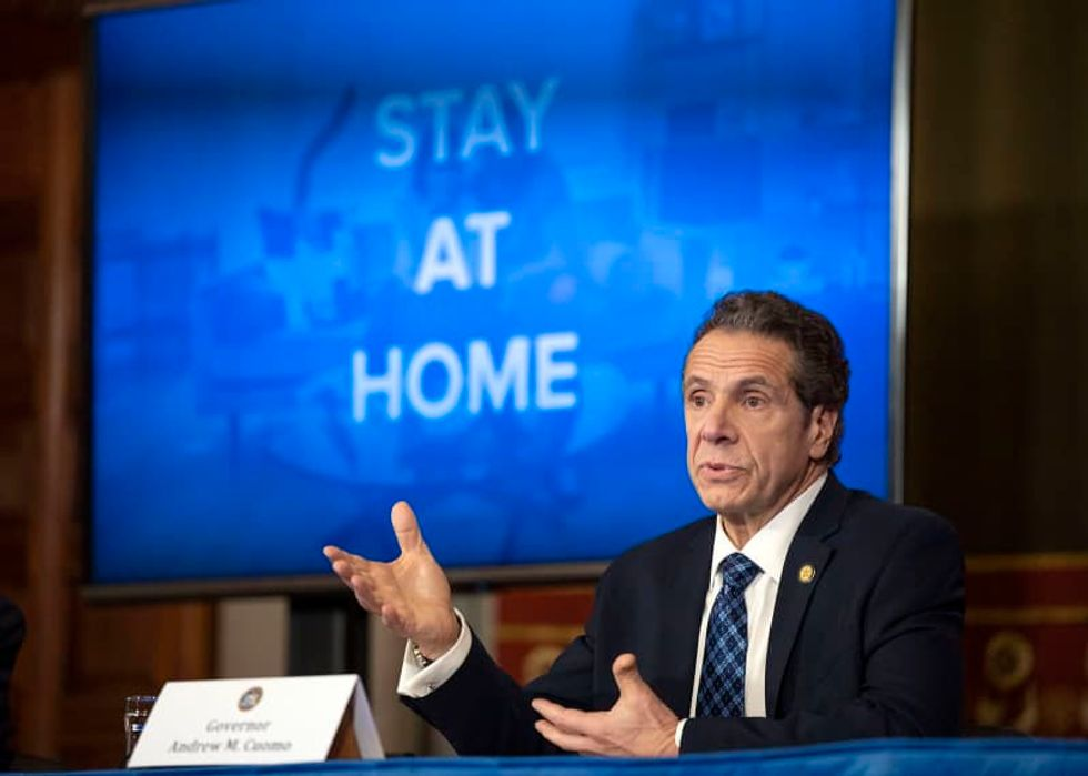 Gov. Andrew Cuomo: 599 people in New York died overnight from coronavirus