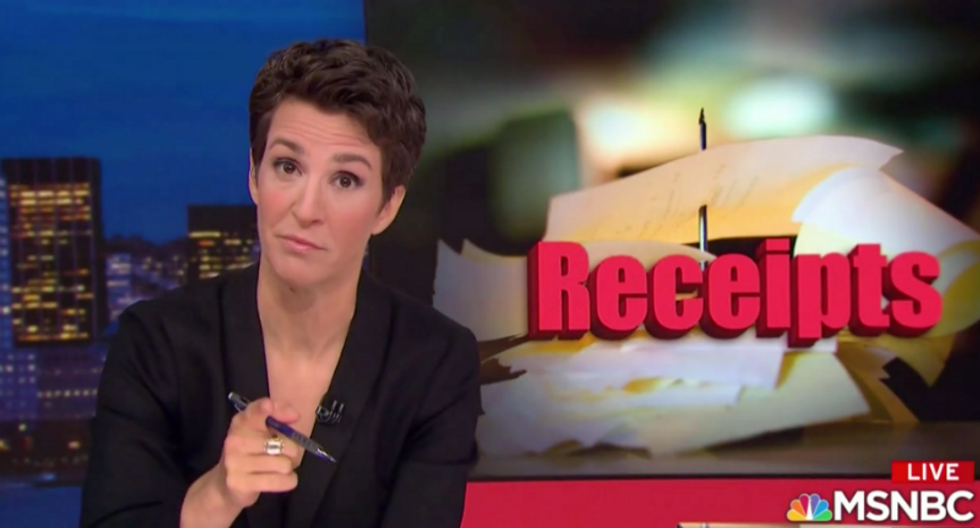 WATCH: Rachel Maddow reports on why the NRA is 'freaked out' about Oliver North testimony