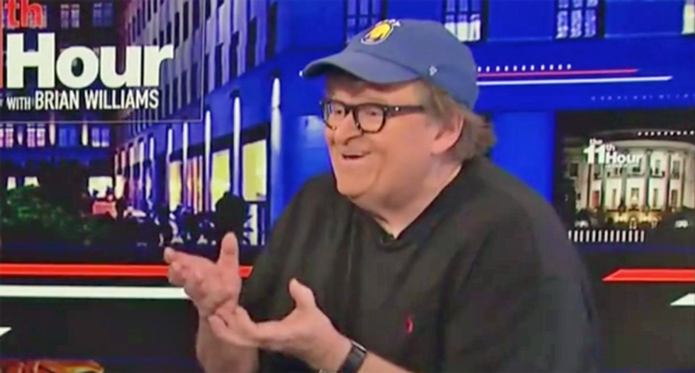 Michael Moore breaks down why Trump is 'scared' of The Squad: 'They're the force out there!'