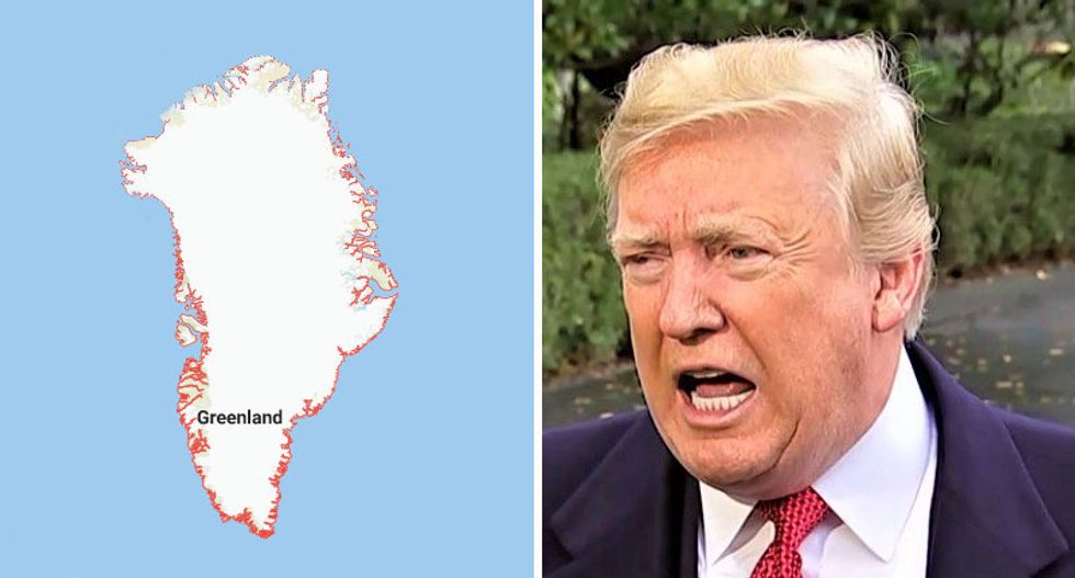 Trump wants to buy Greenland — and has tasked White House counsel with figuring out how: report